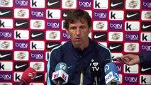 Rueda de prensa de Ziganda tras el Bilbao Athletic (2-0) CD Tenerife
