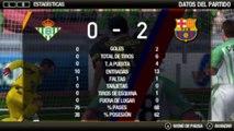 FIFA 13 | Liga BBVA 2012-2013 Vuelta | Jornada 27 | Real Betis B. VS FC Barcelona (HD)