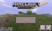 Como coloca seed de vila no minecraft 0.11.1
