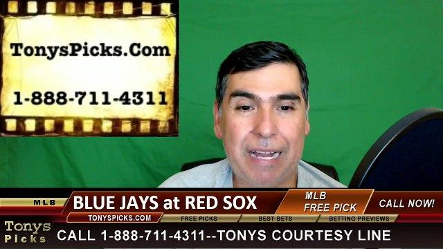 Toronto Blue Jays vs. Boston Red Sox Pick Prediction MLB Baseball Odds Preview 6-4-2016