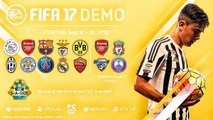 """FIFA 17 DEMO INFO & NEWS""""FUT ,TEAMS,MODES""""- DEMO FIFA 16 NOVITà ITA"""