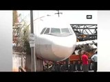 Defunct Air India aircraft collapses near Hyderabad airport