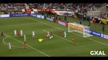 Argentina vs Chile 2-1 . Fuenzalida