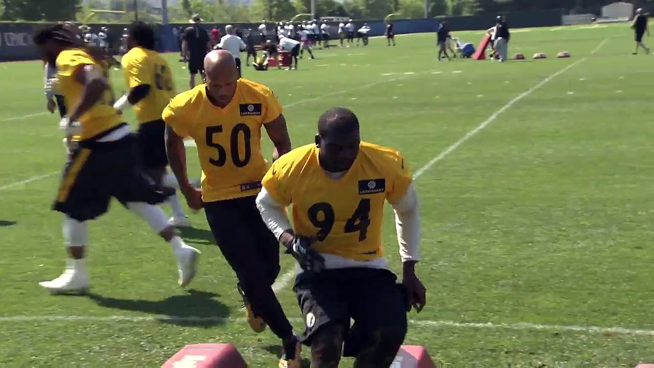Pittsburgh Steelers OTA Highlights NFL