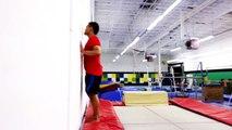 2010.07.26 - Sam's Gym - Keith - wall trampoline