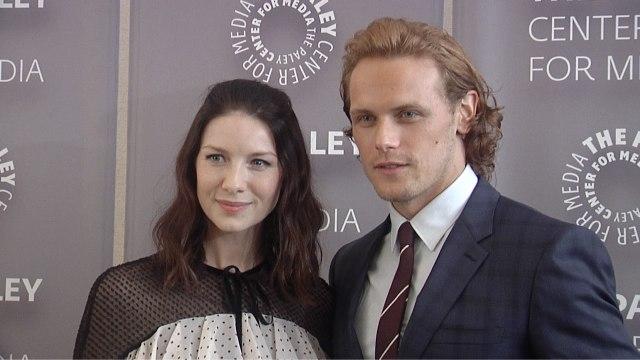 "Sam Heughan & Caitriona Balfe ""The Artistry of Outlander"" Preview Event Arrivals"