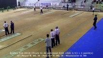 Finale tir de précision G18, France Tirs, Sport Boules, Dardilly 2015