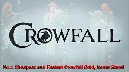 CrowfallGold.com reviews - No.1 Cheapest and Fastest Crowfall Gold Store!