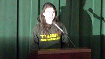 """Lindsay '17 reads Billy Collins' """"Forgetfulness"""" at Paul K. Bergan Poetry Festival"""