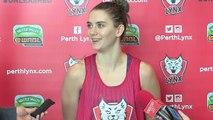 Perth Lynx - Tessa Lavey press conference - 22 June 2015