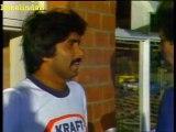 Cricket's GREATEST FIGHT- RARE FULL FOOTAGE- Javed Miandad