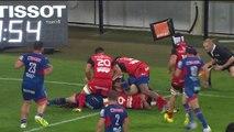 TOP 14 - Grenoble - Toulouse - 14-53 - Essai David MELE (TLS) - J26 - Saison 2015-2016
