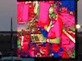 Carl Cox en una pantalla del Monegros Desert Festival 2006