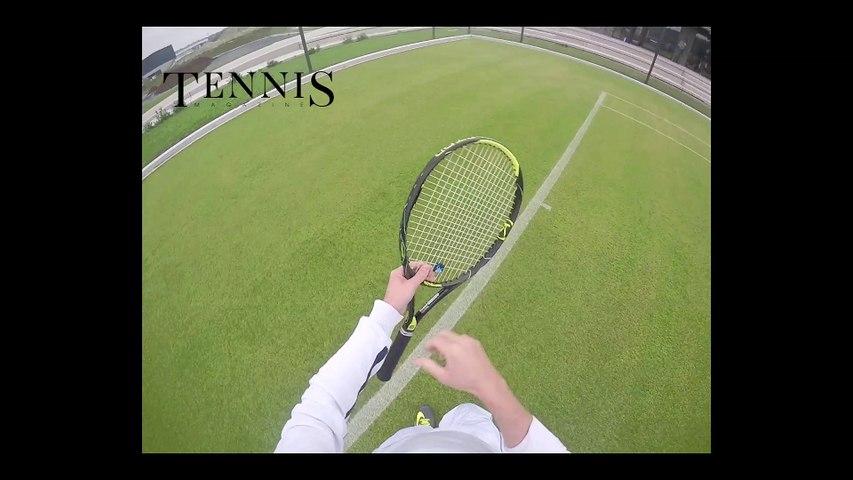 On a testé le tennis sur gazon