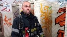 exercices chez les pompiers à Arlon
