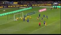 Trent Sainsbury Goal ~ Australia vs Grecce 1-2
