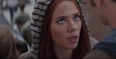 Captain America 2 - Cap & Natasha Kiss (Scarlett Johansson)