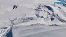 1960s Photographs Of Antarctic Ice Shelf Collapse