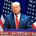 I WILL BUILD A GREAT WALL: Donald J Trump