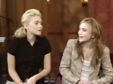 Mary-Kate And Ashley Olsen Live! With Regis & Kelly 2004