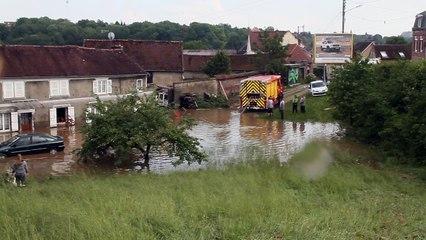 Beauvais : 1m30 d'eau emporte tout chez eux