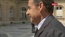 Nicolas Sarkozy au groupe Les Républicains du Sénat