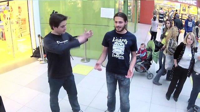 TSAKIRIS ΜΙΣΑ ΜΙΣΑ - ATHENS METRO MALL 28 & 29/03 (VIDEO 2)