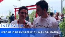 Manga Mania 2016 - Interview de Jérôme Lauzel