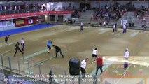 Finale tir progressif G18, France Tirs, Sport Boules, Dardilly 2015