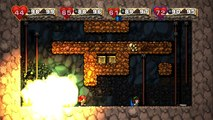 THE INTENSE FIGHT! | Spelunky