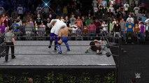 WWE 2K16 ken shamrock v john cena v gangrel