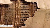New Technology Reveals 'Hidden Library' In Spines Of Ancient Books