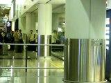 RAIN arrived at HK airport on April 22, 2008