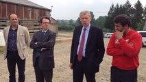 Rencontre entre le préfet du Calvados et les agriculteurs