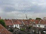 15 Juli 2007 Onweer Vlaardingen