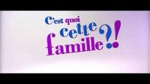 C'est quoi cette famille (BANDE ANNONCE) avec Julie Gayet, Julie Depardieu, Philippe Katerine