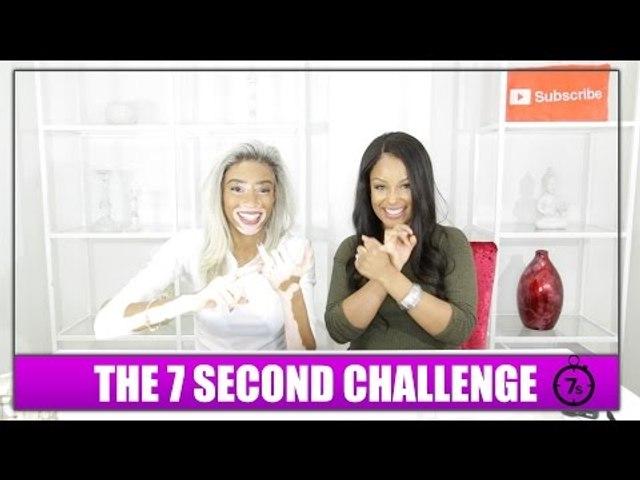 7 SECOND CHALLENGE w/ Winnie Harlow