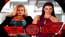 WWF No Way Out 2001- Trish Stratus vs Stephanie McMahon Highlights -