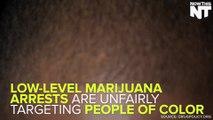 Low-Level Weed Arrests Disproportionately Target Minorities