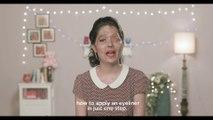 Les tutos beauté avec Reshma - Comment appliquer un eye-liner