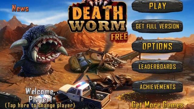 Death Worm - Mobil Oyun incelemesi