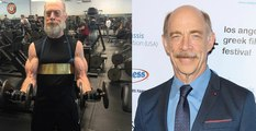 J.K. Simmons Gets JACKED for Justice League and Rocks Commissioner Gordon Mustache