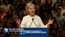 """Primaires américaines: Hillary Clinton revendique une victoire """"historique"""" pour une femme"""