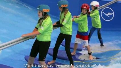 LA RÉVÉLATION !!!!!!! Une vague artificielle UNIQUE en France