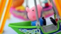 Pig George da Familia Peppa Pig no Parque de Diversao!!! Em Portugues Tototoykids.mp4