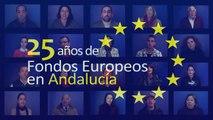 """Casting Bus """"25 años de Fondos Europeos en Andalucía"""""""