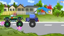 Police Car & Racing Cars, Ambulance, Fire Truck - Cartoons for children. Cop Car Racing for kids