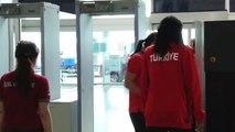 A Milli Kadın Basketbol Takımı Fransa'ya Gitti