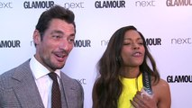 David Gandy and Naomie Harris on Gandy being Bond