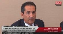Audition Patrick Drahi - Séance Bilan application des lois - Les matins du Sénat (08/06/2016)